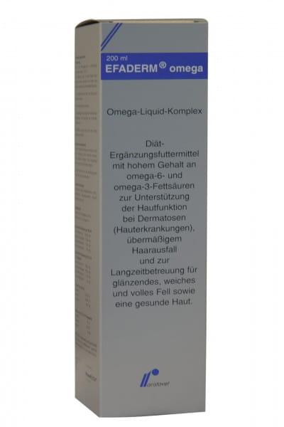 EFADERM® Omega Flüssigkeit Hund, Katze 200 ml