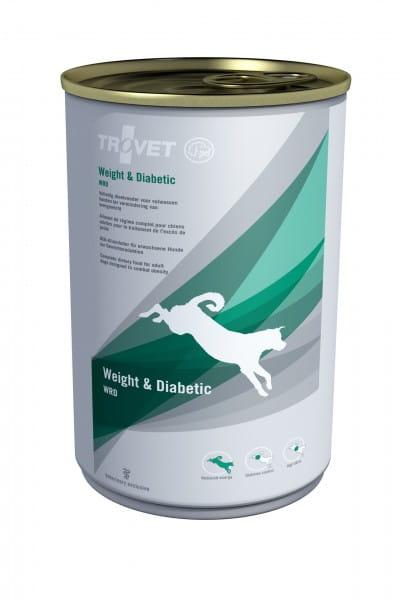 Trovet WRD Hund Weight + Diabetic Nassfutter 6 x 400 g